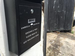 Umbrella Brewing Holloway Road Address