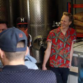 Brewery Tour-Umbrella Brewing-Holloway-May 2017